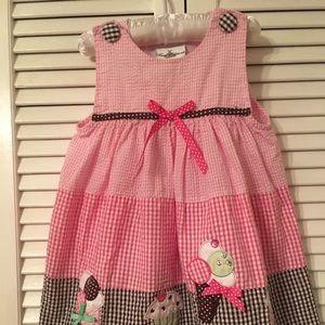 Rare Editions Girls Dress